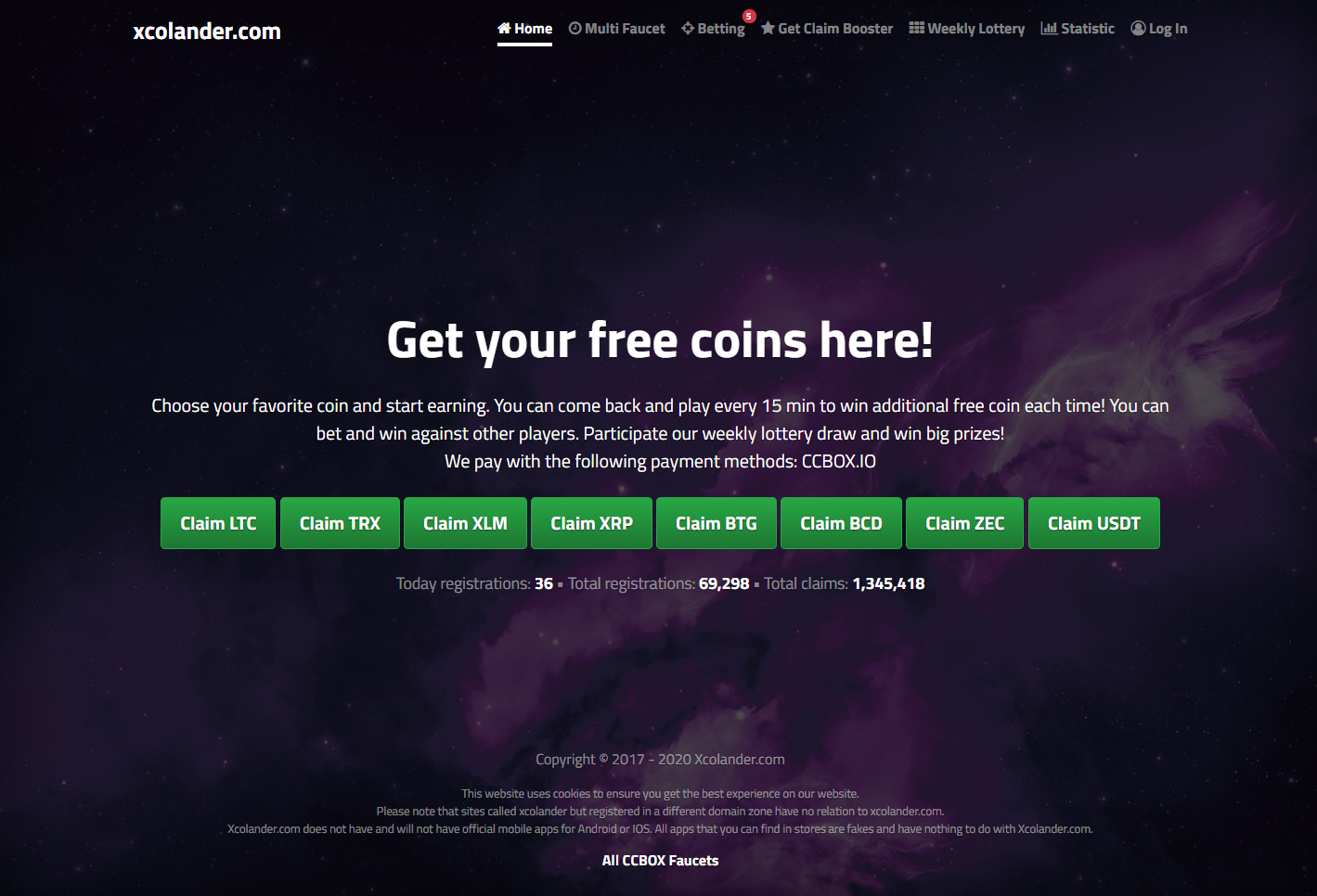 Bitcoin Private Faucet